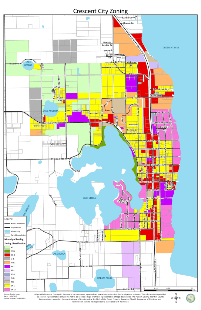 Crescent City Zoning Map Graphic