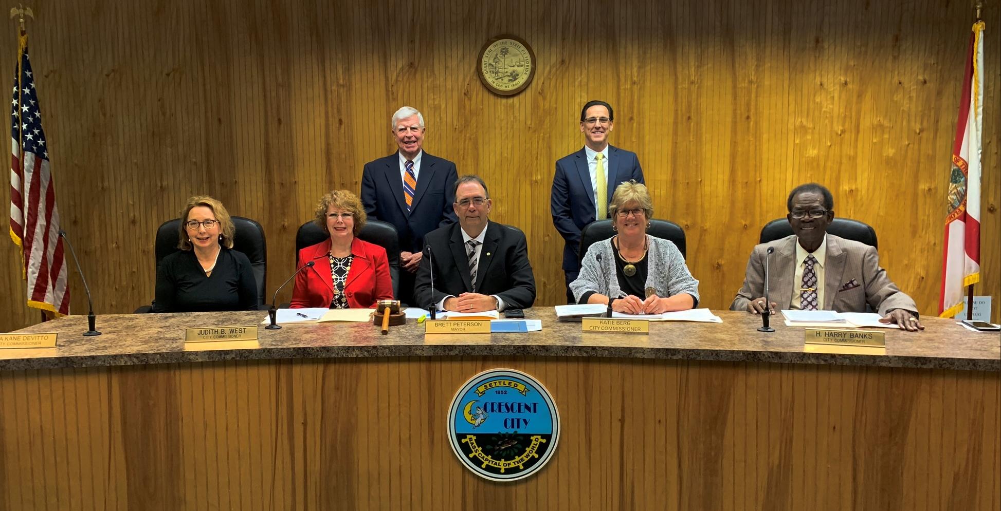 Crescent City Commission Feb 2020