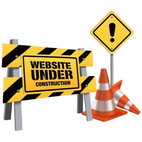 Web Site Under Construction Graphic