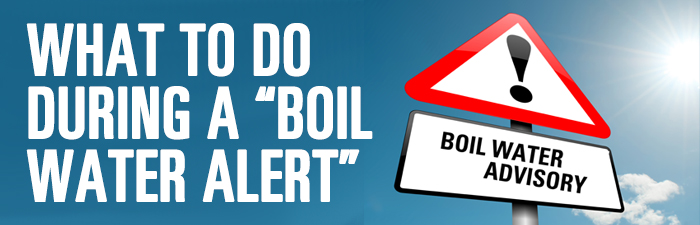 What to Do During a Boil Water Notice Graphic
